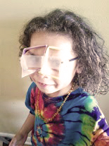 awesome 3d glasses make with straws and tape! Mum helped me make it and I think it's awesome!